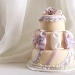 フリルのケーキ