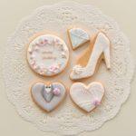 結婚祝いのクッキー
